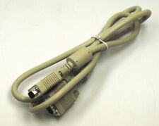 VGA Kabel 2x VGA 15-pin männlich Ferritkern Ferrit-Kern Ferrit Kern 1,50m NEU