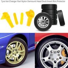 4pc Tyre Changer Part Plastic Nylon Mount Demount Duck Head Insert Rim Protector