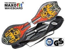 Waveboard MAXOfit® XL Pro Close Style Crazy Devil,Sportgerät TÜV/GS zertifiziert