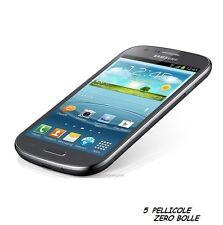 5 Pellicola OPACA per Samsung Galaxy Express I8730 Protettiva Pellicole MATT