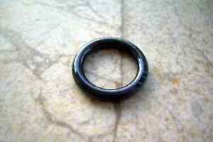 """Black Segment Captive Bead Ring 6g 1/2"""" Titanium"""