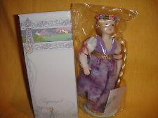"AVON Fairy Tale  Porcelain Doll Collection ""Rupunzel"" NIB"