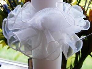 Tropfschutz  für Taufkerze Kommunionkerze feintüll 3-4 cm