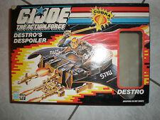 G.I. GI Joe 1988 DESTRO'S DESPOILER 100% MIB ACTION FORCE GOLDEN FACTORY ERROR