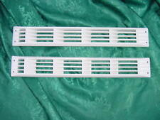 "BOAT BILGE VENT LOUVER SEA RAY ZEBRA VENT BAYLINER RARE 17-1/4"" long WHITE NEW"