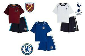 Mens Football Short Sleeve Pyjama Set Shorts Pyjama Bottom Size S M L XL XXL