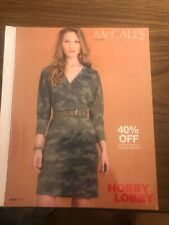 New listing McCalls Pattern Store Counter Book Catalog Sewing Fall 2019