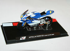 IXO - APRILIA RSW125 Joan Olive (2005) Moto GP Motorcycle Model Scale 1:24