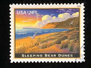 U.S: USED #5258 $24.70 EXPRESS STAMP SLEEPING BEAR DUNES