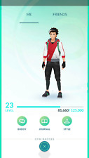 Pokemon-Go-account Level  23-24 - 2016 Account