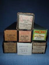 7~Antique Player Piano Rolls, QRS, Melodee, Pennant & more,WALTZES TR/GR41