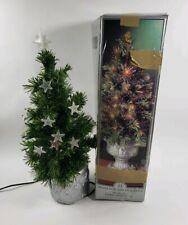Fiber-Optic Musical Christmas Tree Stars Multi Color