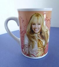 Disney Miley Cyrus Hanna Montana Secret Star 2008 Porcelain Mug. FCC