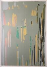 Larry Poons American NY Abstract Expressionist Signed Listed 1979