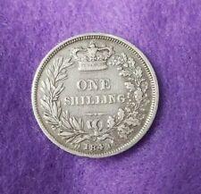 1841 VICTORIA SHILLING