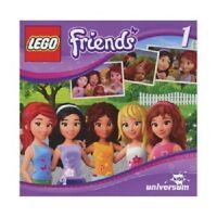 LEGO FRIENDS-CD1 (UNIVERSUM KIDS)  CD  8 TRACKS KINDER-HÖRSPIEL  NEU