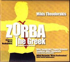 Mikis theodorakis zorba the Greek Film Music 2006 OST CD BANDE ORIGINALE papadopoulos