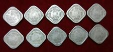 1957 1958 1959 1960 1961 1962 1963 1964 1965 & 1966 5 Naye Paise 10 diff C Mint