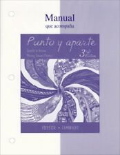 Punto y aparte Workbook/Laboratory Manual