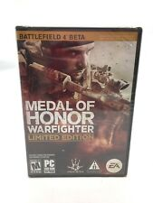 PC Video Game: Medal of Honor Warfighter Limited Edition