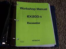 Hitachi Excavator EX200-5 EX 200-5 Factory Workshop Service Shop Repair Manual