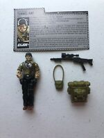 GI Joe 1987 Tunnel Rat v1 E.O.D. Hasbro Action Figure Near Complete 550