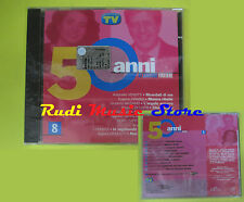 CD 50 ANNI DI CANZONI ITALIANE 8 compilation SIGILLATO NOMADI no lp mc dvd (C4)