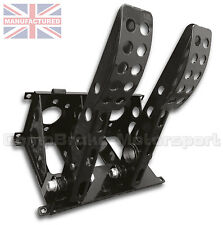 UNIVERSAL FLOOR MOUNTED 2 PEDAL CABLE PEDAL BOX ONLY  CMB0704-CAB-BOX