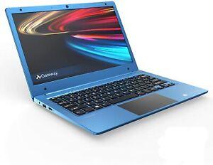 """Gateway 11.6"""" FHD Ultra Slim Notebook, AMD A4-9120e, 4GB RAM, 64GB Storage -Blue"""