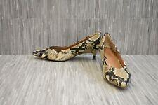 + Vionic Kit Josie Women's Pumps - Choose Your Size, Tan Snake