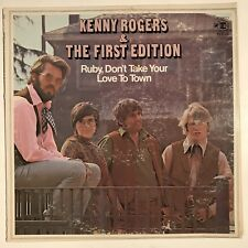 Kenny Rogers & The First Edition Ruby Dont Take Your Love To Town Vinyl LP VG+