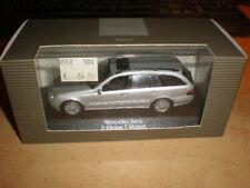 Minichamps 1/43 Mercedes Benz E Class T model silver metallic Mint in dealerbox