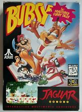 Atari Jaguar - Bubsy in Fractured Furry Tales (region free) VERY GOOD CONDITION