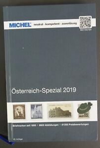 KI74) Michel Österreich Spezial 2019 (40. Auflage) - Mängelexemplar