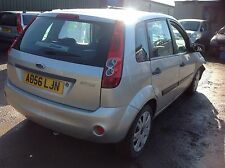 Ford Fiesta Mk6 Breaking For Parts Spares 1.4 16v 58000 Miles