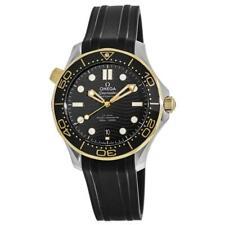 Omega 210.22.42.20.01.001 Seamaster 42MM Men's Black Rubber Watch