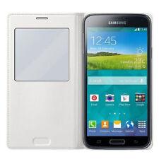 Étuis, housses et coques avec clip blancs Samsung Galaxy S5 pour téléphone mobile et assistant personnel (PDA)