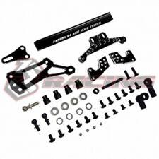 3RACING SAK-D4845/BK Slide Steering System for D4AWD 1/10 RC Sakura D4 Drift Car