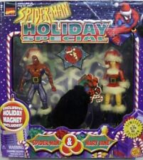 Spider-Man Animated Series Spider-Man & Mary Jane Christmas Holiday Santa Suit