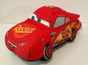 "Disney Pixar Cars 3 Lightning McQueen 2017 Plush Toy The Northwest Company 11"""