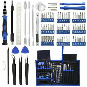 136 Pcs Repair Opening Tool Kit Screwdriver Set For Phone Watch Mobile Universal