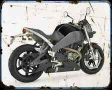 Buell Xb12Scg Lightning 07 2 A4 Metal Sign moto antigua añejada De