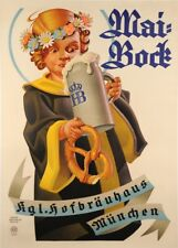 MAI-BOCK BEER, MUNICH, Germany, date unknown, 250gsm A3 Poster