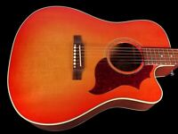 2019 GIBSON HUMMINGBIRD AG MODERN MAHOGANY ~ LIGHT CHERRY BURST