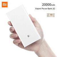Xiaomi 2C Mi Power Bank 20000mAh QC 3.0 Dual USB Battery Portable Fast KE