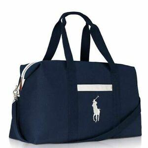 Ralph Lauren Navy Weekend Gym Duffel Bag 2020