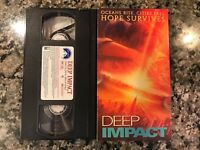 DEEP IMPACT VHS 1998 Action