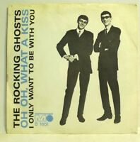 """7"""", Single 60er BeatThe Rocking Ghosts Oh Oh What A Kiss, Beat 1966 Top RAR"""