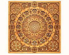 "Spiritual Meditation Mandala Seed of Life Wood Sculpture Wall Decor 18""*18"""