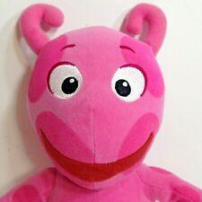 "TY Backyardigans Pink Uniqua Plush Beanie Stuffed Animal Nick Jr Nickelodeon 12"""